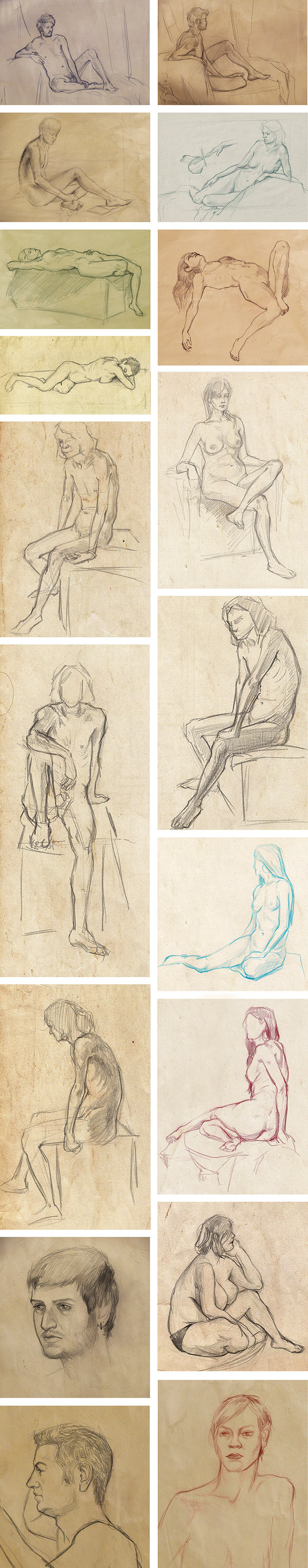 Nude sketches