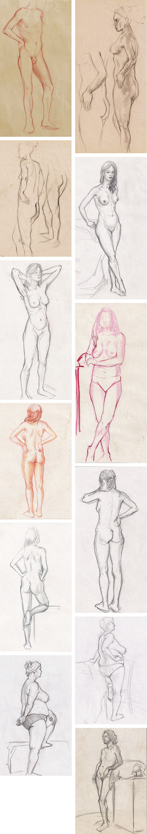 Nude sketches 2